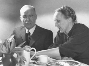 Albert und Marie Lempp (um 1936).