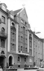 Das Wohn- und Verlagshaus Albert Lempps an der Münchner Isabellastraße 20.
